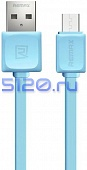 Кабель Micro USB Remax Fast Data RC-008m 1М синий