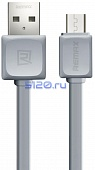 Кабель USB - Micro USB Remax Fast Data RC-008m 1М, серый